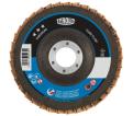 "Flap Discs - 5"" - Zirconium & Ceramic - Type 27 / 3447421 Series *TWIN FLAP"