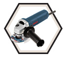 "Angle Grinder (Kit) - 4-1/2"" dia. - 6.0 amps / 1375A"