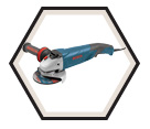 "Angle Grinder (Tool Only) - 5"" dia. - 9.5 amps / 1821"