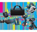 4 Tool Combo Kit - 18V Li-Ion / CLPK430-181