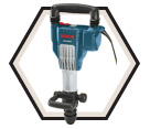 Demolition Hammer (Tool Only) - SDS-MAX - 15.0 amps / DH1020VC