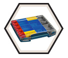 Modular Organizer for L-Boxx-3D with 12 pc. Insert Set