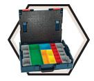 Modular Organizer - 13 Bins - Plastic / L-BOXX-1A *L-Boxx