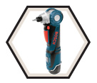 "Angle Drill/Driver (Kit) - 1/4"" Hex Chuck - 12V Max Li-Ion / PS10-2A"