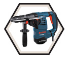 "Rotary Hammer (Tool Only) - 1-1/8"" - SDS-Plus - 8.0 amps / RH328VCQ"