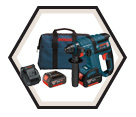 """Rotary Hammer (Kit) - 3/4"""" - SDS-Plus - 18V Li-Ion / RHH181-01 *BULLDOG"""