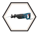 "Reciprocating Saw (w/ Acc) - 1"" Stroke - 12A / RS325"