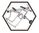 Gravity-Rise™ Miter Saw Stand / T4B