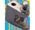 "Universal Beam Clamp - 1/2"" - Steel / 3000050EG *ELECTROGALVANIZED"