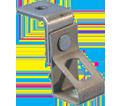 "Thread Install Rod Hanger w/ Angle Bracket - 1/4"" - Steel / 6TIB *PREGALVANIZED"