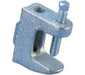 "Beam Clamp w/ Tapped Hole - 1/4"" - Steel / BC260025EG *ELECTROGALVANIZED"