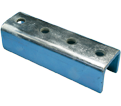 "4 Hole External Coupler - 9/16"" - Steel / U24A0000EG *ELECTROGALVANIZED"