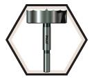 "Precision Shear™ Forstner Bit 2-1/8"" / PB-016"
