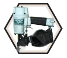 Roofing Nailer (w/ Acc) - Coiled - 15° / NV50A1