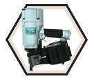Full Round Head Coiled Nailer - 15° / NV83A2