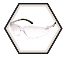 Safety Glasses - Polycarbonate - Frameless / CFGLASSESCL