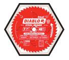 """Diablo Ferrous Metal Blade - 7-1/4"""" / D0748F"""
