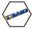 150T Magnetic Toolbox Level - 12""