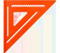 """Hi-Vis Rafter Squares - 12"""""""
