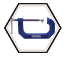 "C-Clamp - 3"" - 2-1/4"" Throat Depth"