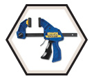 One Handed Bar Clamp / Spreader - 12""