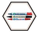 Bullet-Tip Artline Paint Marker