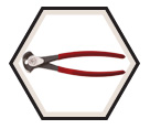 """End-Cutting Pliers - 8-1/2"""""""