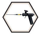 Expanding Foam Dispenser Gun - Stainless Steel / GREAT STUFF PRO™ 15