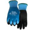 Palm Coated Gloves - Lined - Glass/Nylon / 9393 *STEALTH BLACK OPS™