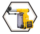 Dust Extractor - HEPA Dry Filter / For DCH273 Rotary Hammer Drill
