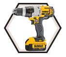 """Drill/Driver MAX™ - 1/2"""" - 20V Li-Ion / DCD980 Series"""