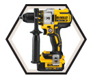 "Drill/Driver MAX XR™ (KIt) - 1/2"" - 20V Li-Ion / DCD990M2"
