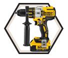 """Hammer Driver Drill MAX XR™ - 1/2"""" - 20V Li-Ion / DCD995 Series"""