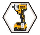 "Impact Driver (KIT) MAX XR™ - 1/4"" Hex - 20V Li-Ion / DCF887 Series"