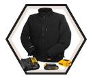 Heated Jacket (Kit) - Unisex - 12V/20V Li-Ion / DCHJ060C1 Series
