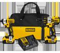 2 Tool Combo Kit Brushless XR™ - 20V Max Li-Ion / DCK296M2