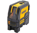 Laser Level - Cross Line & Plumb Spots - Red - AA Battery / DW0822
