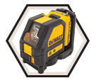 Laser Level - Cross Lines - Green - 12V Li-Ion / DW088LG