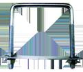 "Square U-Bolts - 3/8"" - UNC / ZINC"
