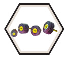 "Small Flap Wheels - Aluminum Oxide - 1"" Dia. / KM 613"