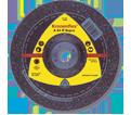 Grinding Wheels - Aluminum Oxide - Type 27 / 134 Series *SUPRA