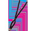 Eyewear Lanyard - Cotton - Black / 3200 *SKULLERZ