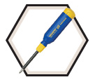 "Original 15-in-1 Screwdriver -1/4"" Hex / 151"