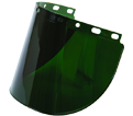 Wide View Faceshield Window - Green / 4178IR/UV