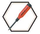"Tamperproof Spanner 15-in-1 Screwdriver - 1/4"" Hex / 151SECURE"