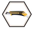 Utility Knife / LA-X