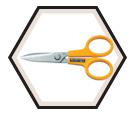 "Stainless Steel Scissors - 7"""