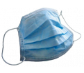Pleated Face Mask - 3-Ply - Disposable / 70609 (50/BX)