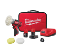 M12 12 Volt Lithium-Ion Cordless Variable Speed Polisher/Sander XC/Compact Battery Kit / 2438-22x